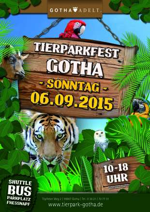 Tierparkfest  am 06.09.2015