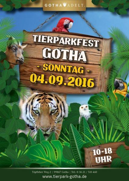 Großes Tierparkfest am 04.09.2016