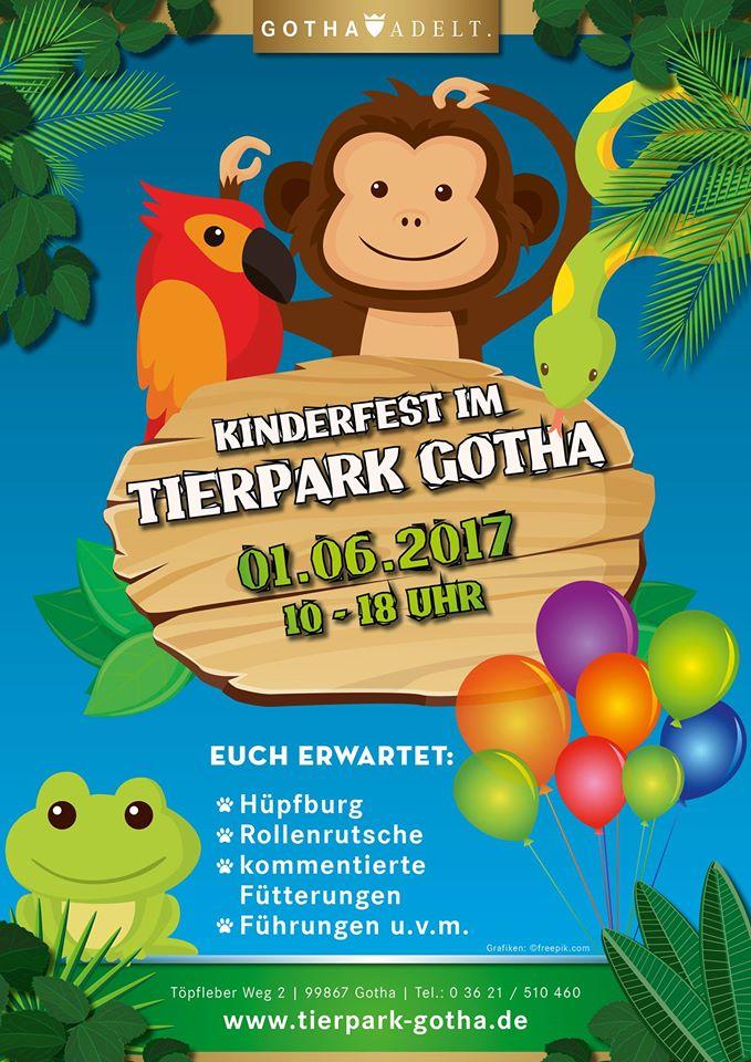Kinderfest im Tierpark Gotha