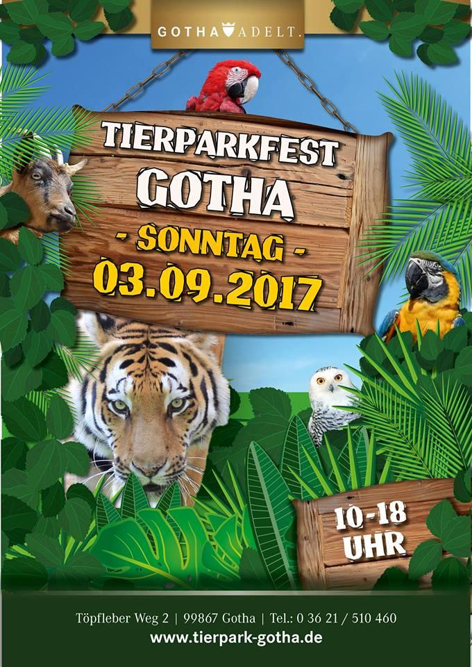 Großes Tierparkfest am 03.09.2017